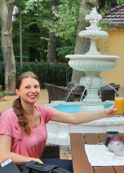 Falkensee: Der Wunschbrunnen im Kronprinz