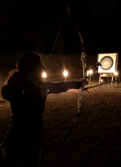 Nachtschießen der Dallgower Bogenschützen