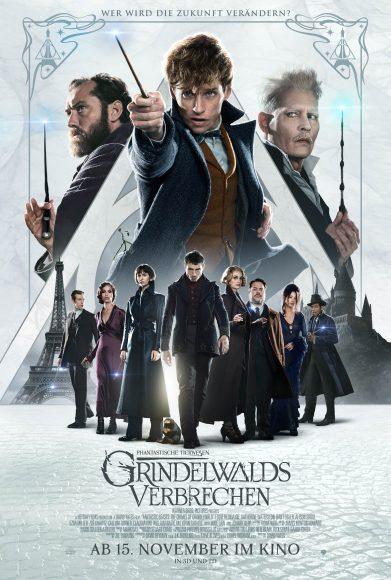 Kino-Filmkritik: Phantastische Tierwesen 2: Grindelwalds Verbrechen