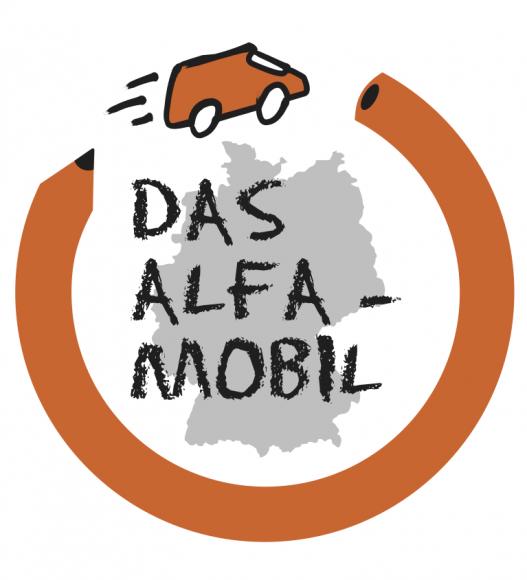 Das ALFA-Mobil auf der Ausbildungsbörse Havelland in Schönwalde-Glien