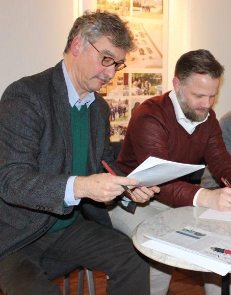 Kultur mal vier: Falkenseer Fördervereine unterzeichnen Positionspapier