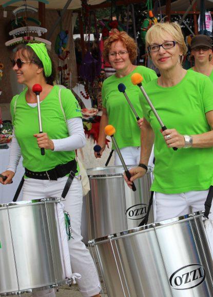 Die Samba Beazz aus Falkensee