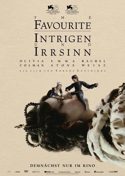 Kino-Filmkritik: The Favourite – Intrigen und Irrsinn