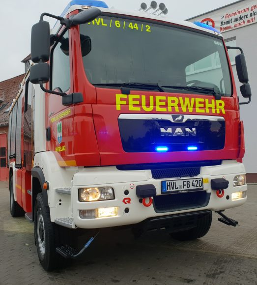 Brieselang: Neues Löschgruppenfahrzeug für die Feuerwehr