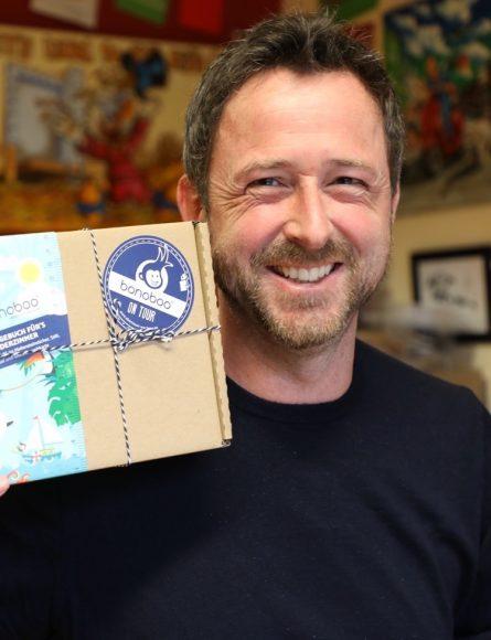 Nachgemessen in Falkensee: Jörg Scharmann stellt bunte Messlatten fürs Kinderzimmer her!