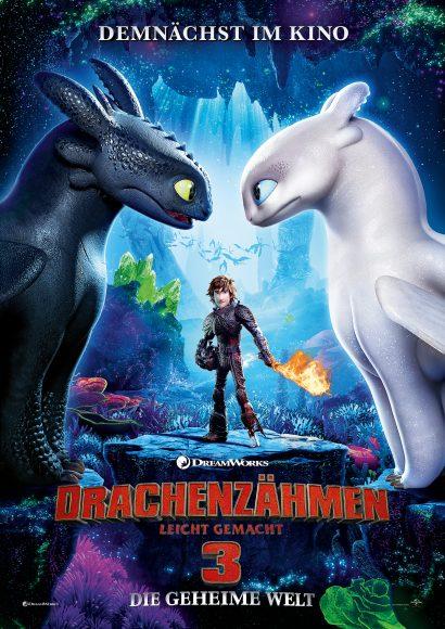 Kino-Filmkritik: Drachenzähmen leicht gemacht 3 – Die geheime Welt