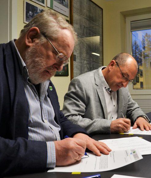 Nymphensee: Vertrag offiziell unterzeichnet – Goslowsky neuer Pächter