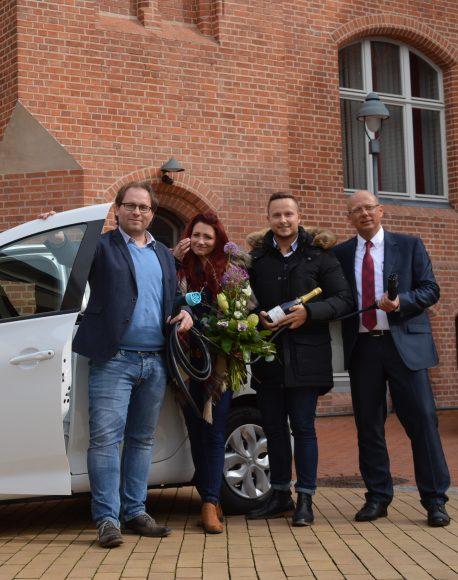 Stadtverwaltung Nauen erhält erstes E-Auto