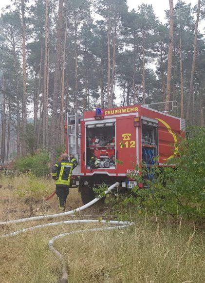 Nauens Feuerwehr: Eine schlagkräftige Truppe