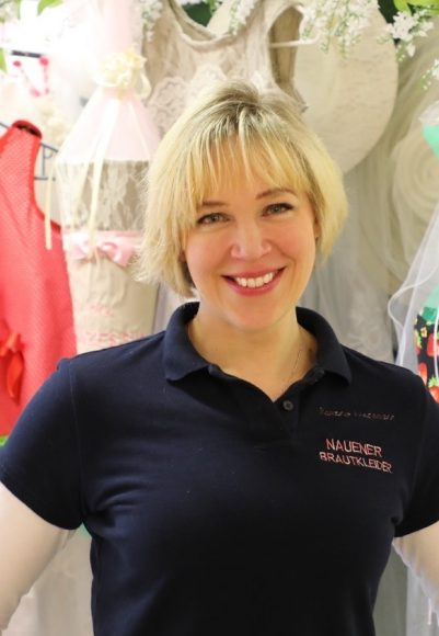 Ramona Wegemann aus Nauen hilft Bräuten in Not