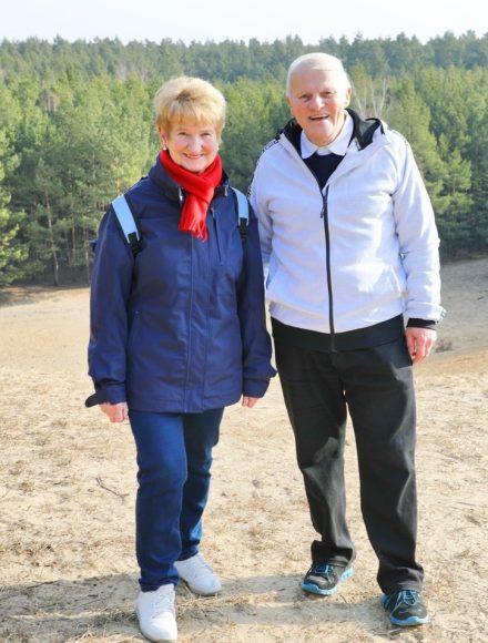 Die Wandertruppe der Senioren in Falkensee