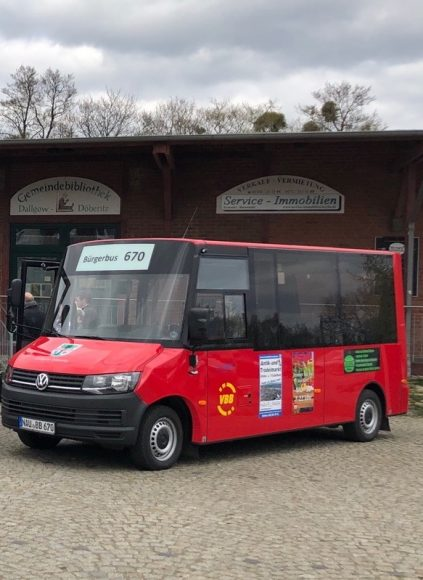 Neuer Bürgerbus für Dallgow-Döberitz