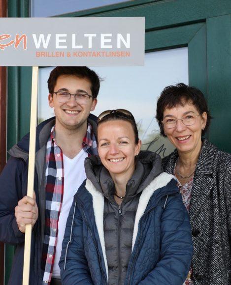 Voller Durchblick: Augenwelten mit  neuer Filiale am Dallgower Bahnhof!