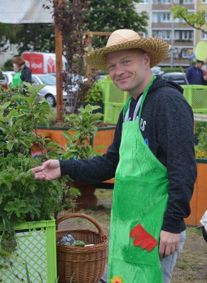 """Nauens erste Pflanzentauschbörse lockt Gartenfreunde ins """"Grüne Eck"""""""