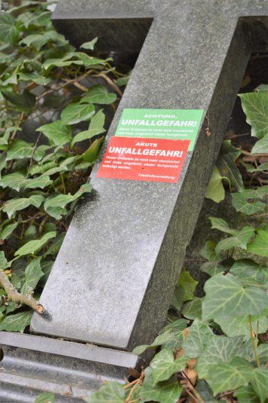Information der Friedhofsverwaltung Nauen