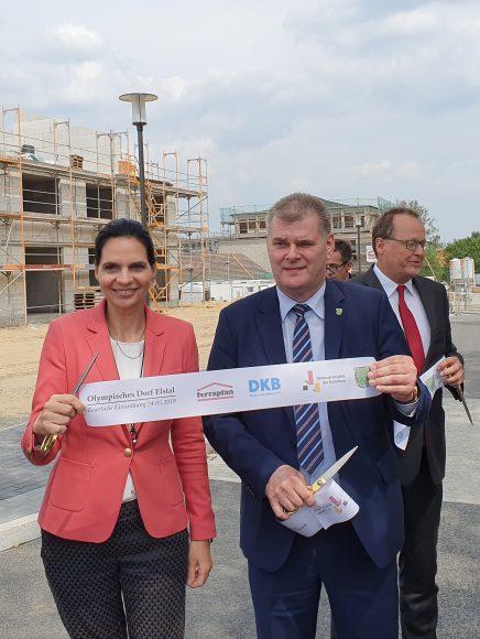 Revitalisierung des historischen Olympischen Dorfes von 1936 in Elstal: Erster Bauabschnitt feierlich eingeweiht