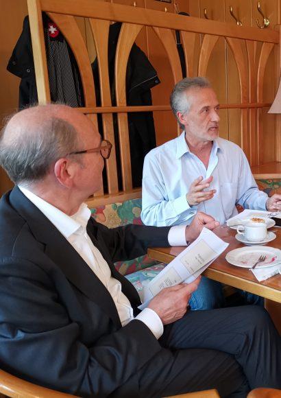 """1. Senioren-Café in Nauen: """"Zukunft der Pflege im Havelland"""""""