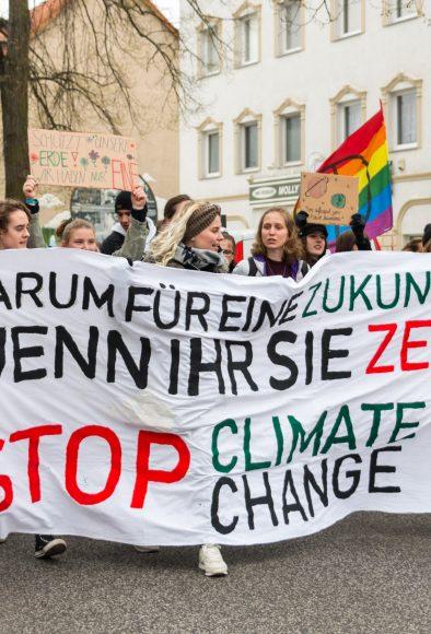 Schüler*innen streiken in Falkensee fürs Klima