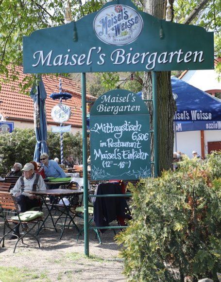 Maisel's Einkehr in Spandau: Fränkische Küche, Bayreuther Bier