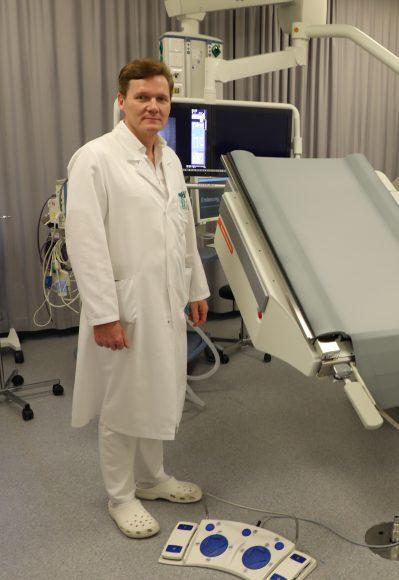 Neuer digitaler  Röntgenarbeitsplatz in der Nauener Klinik: Nieren- und Blasensteine entfernen!