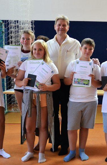 Schönwalde-Glien: Verantwortungsvolles Ehrenamt bereits als Grundschüler