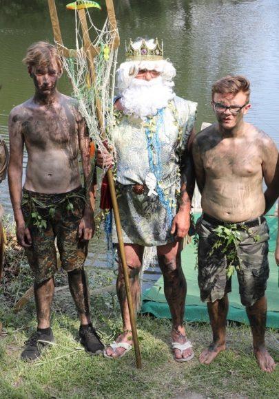 Bei der Neptuntaufe: 9. Bredower Teichfest war ein voller Erfolg!