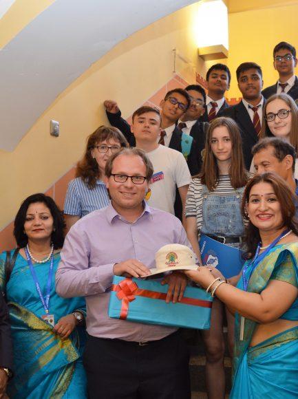 Indische Austauschschüler in Nauen