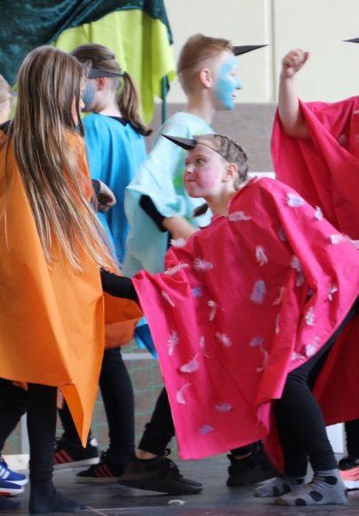 Geschwister-Scholl-Grundschule: Mobbende Raben