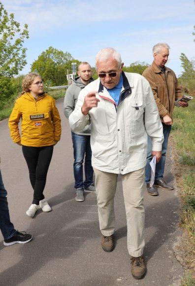 Militantes Dallgow: Unterwegs mit Klaus Michels