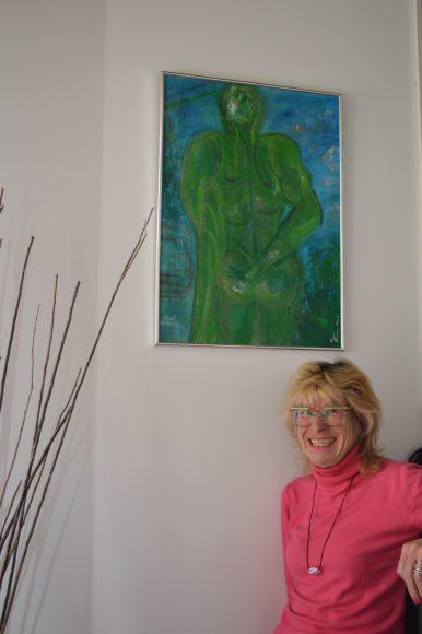Stadtbad Nauen stellt moderne Malerei von Tine Ullmann vor