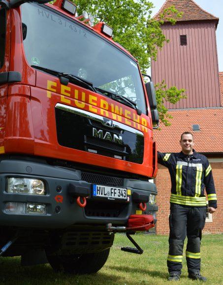 Nauen: Feuerwehr mit Gesicht – Kai Pupka von Lipinski