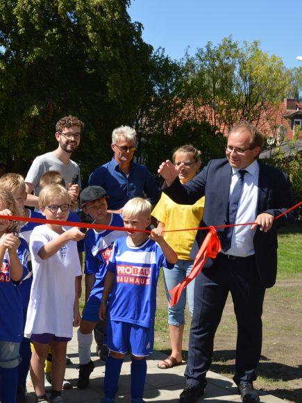 Spielplatz in Nauen eingeweiht