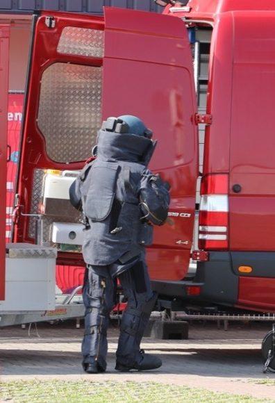 Bombenfund? – Sprengstoffkommando in  Falkensee im Einsatz!