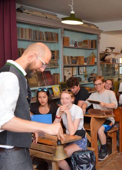 Nauen: Gastschüler aus Seattle erkundeten Ribbeck
