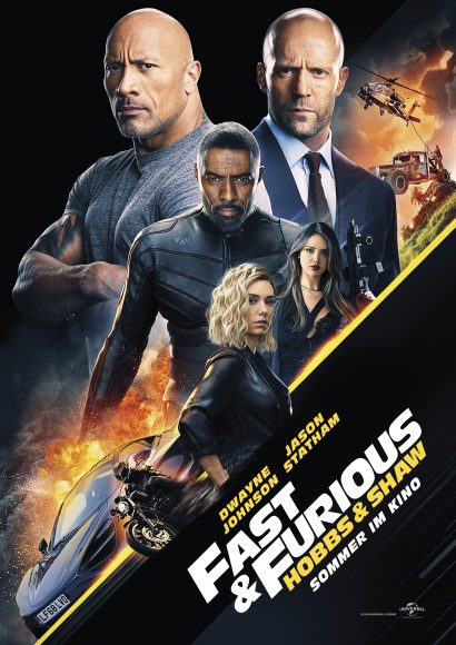 Kino-Filmkritik: Fast & Furious – Hobbs & Shaw