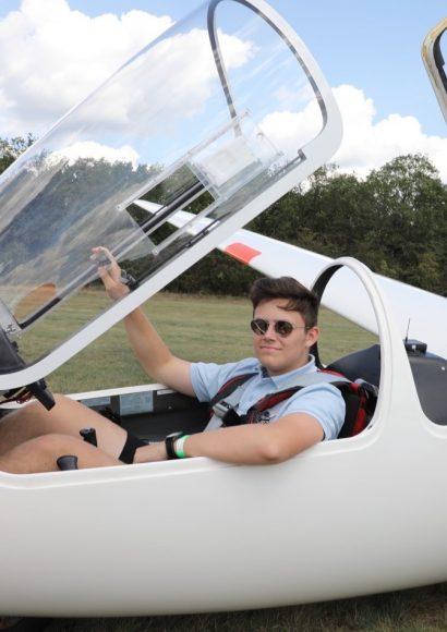 LeiseQuax 2019: Segelflieger zu Besuch auf dem Flugplatz Bienenfarm!