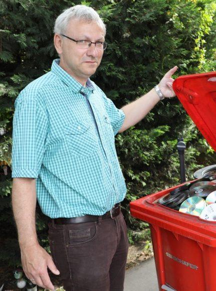 Müll entsorgen: Zu Besuch auf dem Wertstoffhof in Falkensee