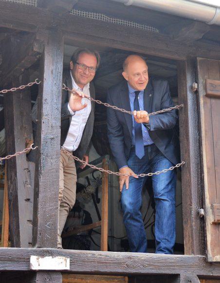Ortsbesuch von Landrat Lewandowski in Nauen
