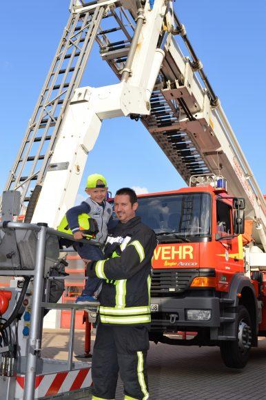 Feuerwehr mit Gesicht – Rico Lenz aus Nauen