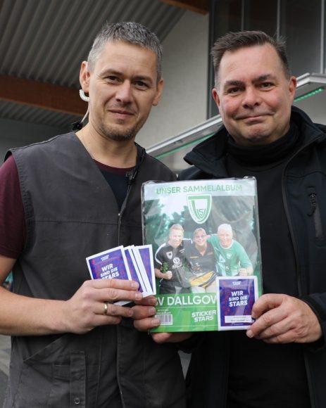 Lokaler Sammelspaß: 400 Sportler aus dem SV Dallgow eV gibts nun als Klebebilder!