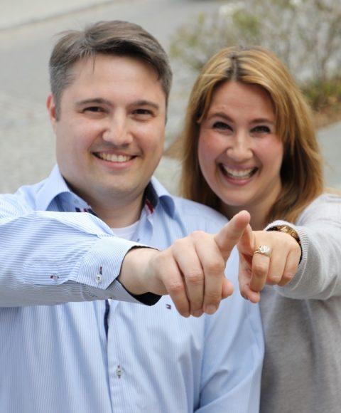 Neue Familienpraxis: Dr. Sascha und Nicole Frank stellen sich den Falkenseern vor!