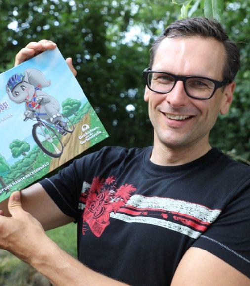 Emil Elefantööös! Der Falkenseer Patrick Kunze stellt sein  1. Kinderbuch vor!