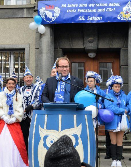 Endlich Karneval in Nauen – Kalte Nasen inklusive