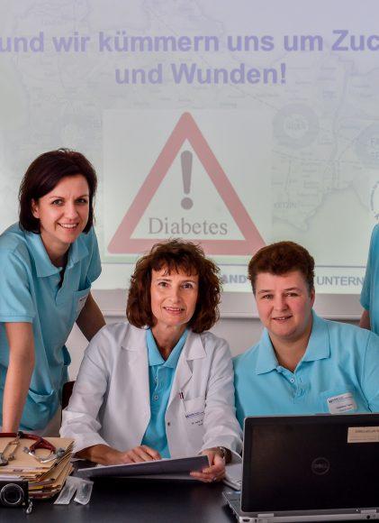 Nauen: Dem Zucker auf der Spur – Diabetesversorgung der Havelland Kliniken erneut zertifiziert