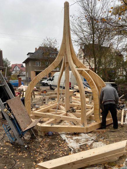Mit Zwiebelturm: Stephan Schacher restauriert die Villa Rothenberg in Finkenkrug!