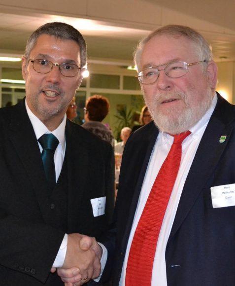 Ralf Heimann neuer Bürgermeister – Abschied von Wilhelm Garn