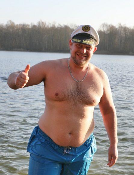 Das Eisseepferdchen machen: Neujahrsbaden im Nymphensee!