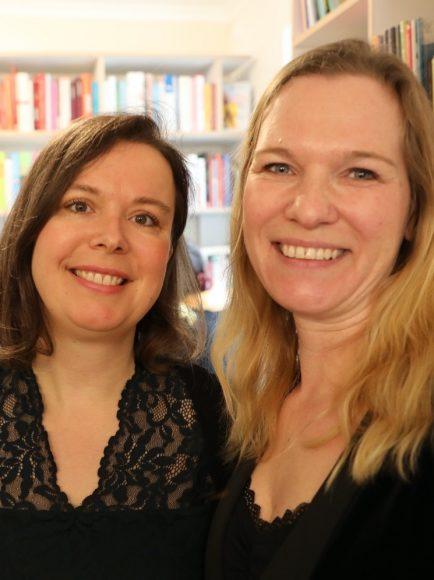 Kapitel 8 aufschlagen: Ivonne Hennig und Manuela Dietzsch eröffnen Buchladen!