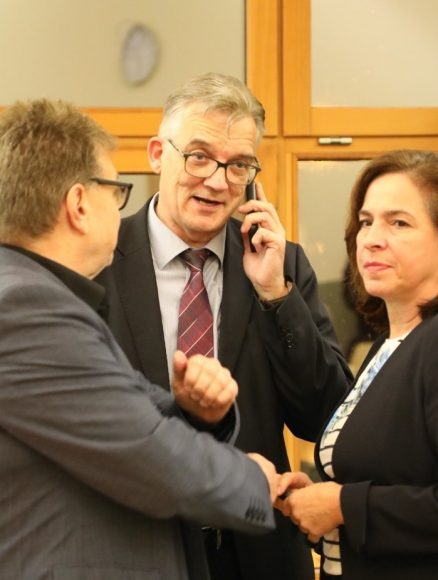 Ein Mann rückt auf: Uwe Feiler ist parlamentarischer Staatssekretär!