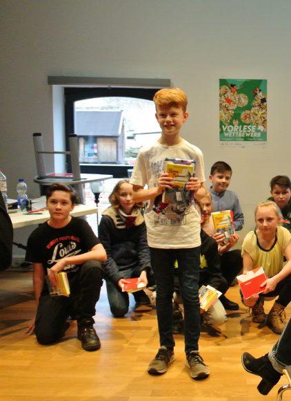 Nauen: David Schlotmann gewinnt Regionalentscheid im Vorlesewettbewerb
